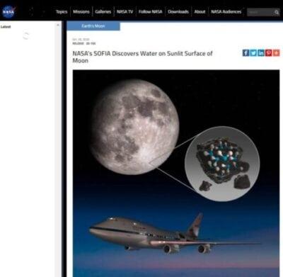 NASA在月球发现水!一升水$3.5万堪比黄金