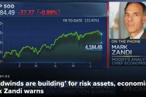 美股要跌20%?专家警告投资者现在就要小心