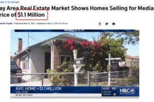 还要涨?旧金山湾区房价中位数飙破$110万